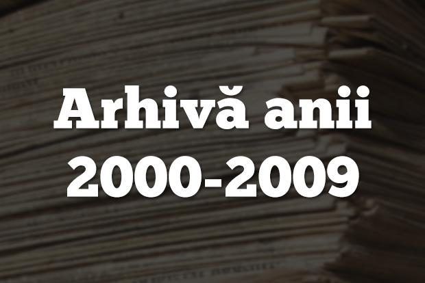 arhiva echinox anii 2000-2009
