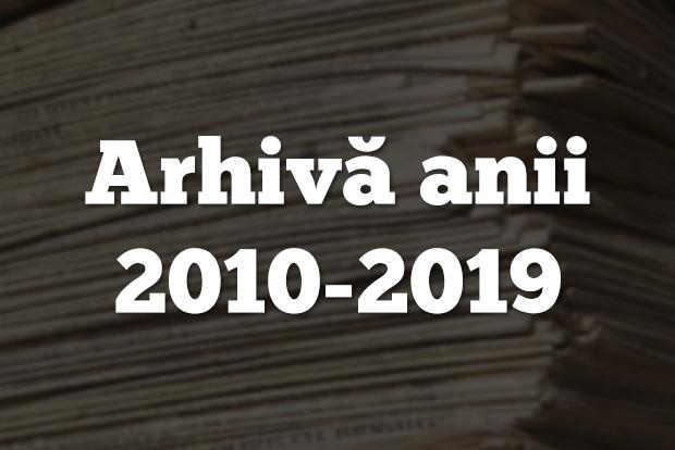 arhiva echinox anii 2010-2019