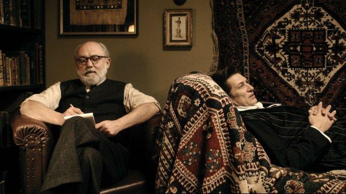 Tobias Moretti și Karl Fischer în Vampir la psiholog