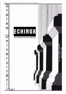 Echinox 3-6/2006: Starea Universității, volumul 1