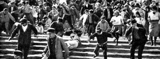 Crucişătorul Potiomkin (Eisenstein, 1925) & Russkaja @ TIFF 2014