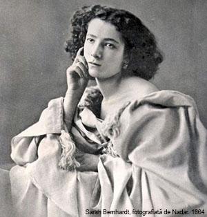 Sarah Bernhardt + Nadar