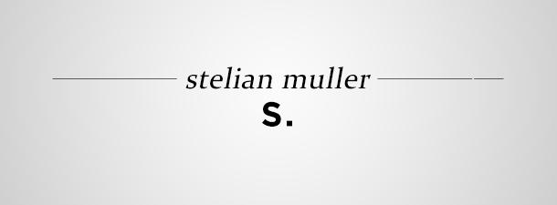 Stelian Muller – Şcoala de poezie de la Cluj (fragment)