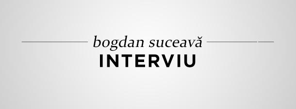 Între cifre și litere. Interviu cu Bogdan Suceavă