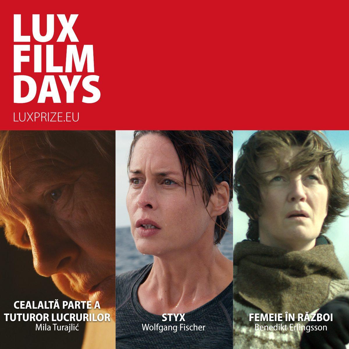 Zilele Filmului LUX 2018 sau cinematografia ca lingua franca