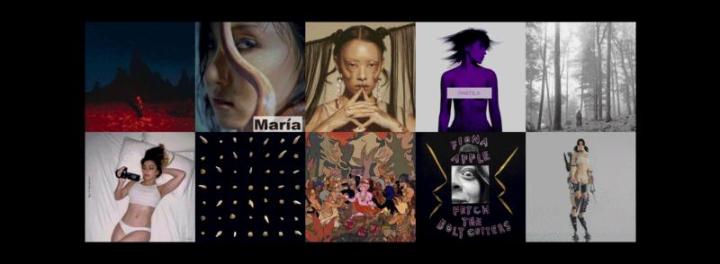 Cele mai bune albume ale lui 2020