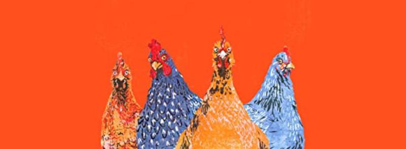 O carte cu găini
